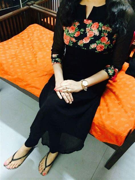 black kurti fashion dresses dress neck designs indian