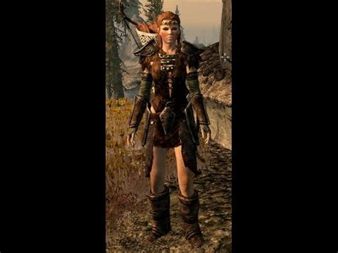 skyrim unpb huntress armor sexiest heavy armor in skyrim aela the huntress armor