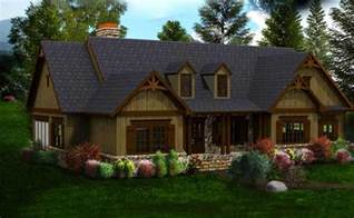 One Story Country House Plans One Or Two Story Craftsman House Plan Country Craftsman