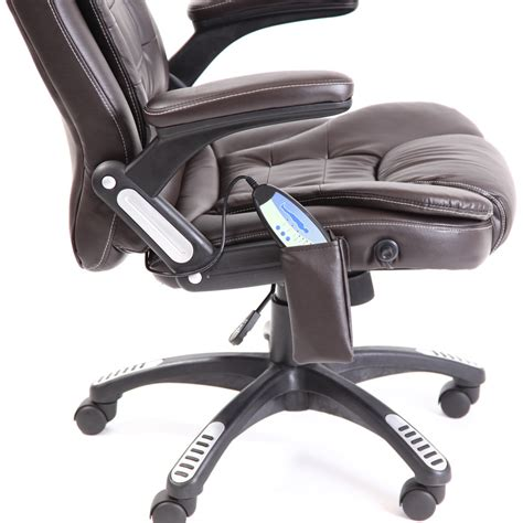 Reclining Office Desk Chair Leather Reclining Office Chair W 6 Point High Back Computer Desk Ebay