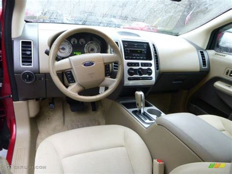 2007 Ford Edge Interior by Camel Interior 2007 Ford Edge Sel Awd Photo 89139656