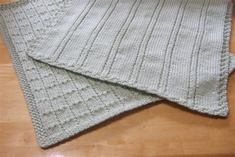 easy baby blanket knit knitting patterns galore simple lines baby blankets