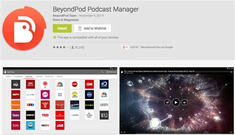 podcast apps for android 5 best podcast apps for android drippler apps news updates accessories