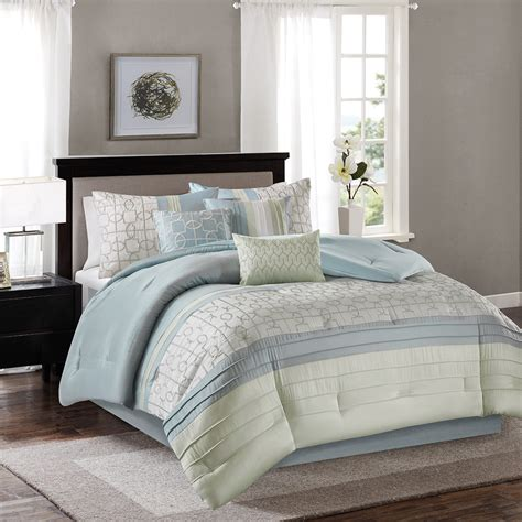 madison park bradford 7 piece comforter set