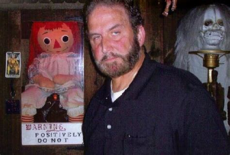 annabelle doll warrens with conjuring 2 consultant tony spera of nespr