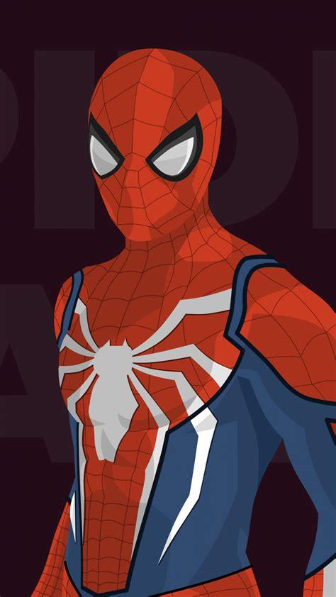 wallpaper spiderman minimal hd movies 9757