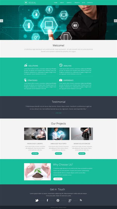 web templates for advertising agency marketing agency responsive website template 48477