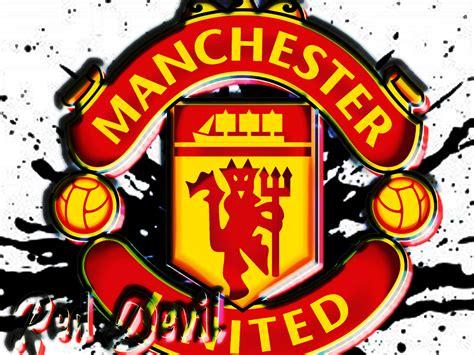 Forever Manchester United manchester united logo wallpaper wallpapersafari