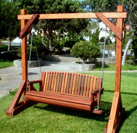 swinging patio bench bench swing car interior design