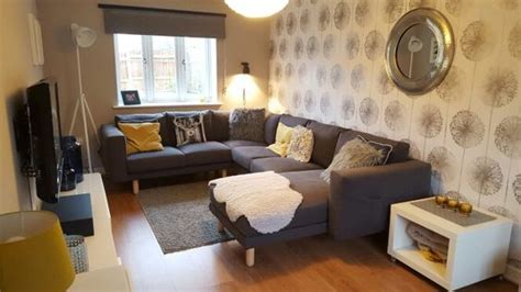 Ikea Living Room Yellow Grey Yellow And Yellow Living Rooms On