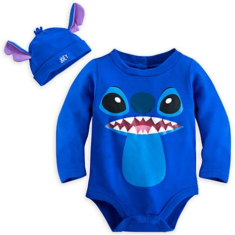 Stitch bodysuit costume set for baby personalizable bodysuits disney store