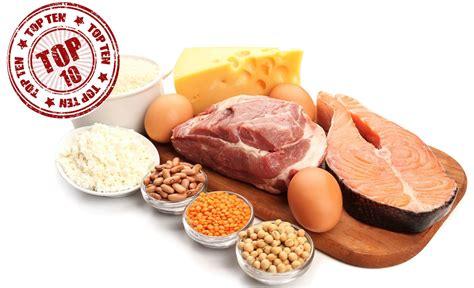 top  alimentos  proteinas