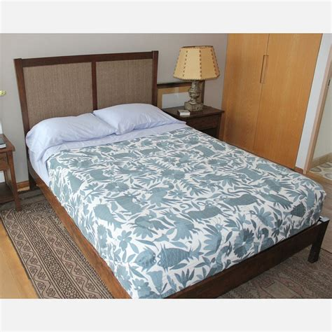 otomi coverlet gris otomi bedspread