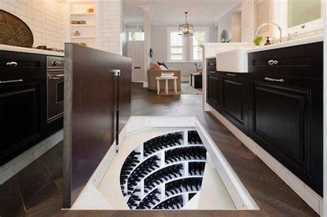 Floor Plans Secret Rooms by Trap Door Wine Cellar Eclectic Kitchen