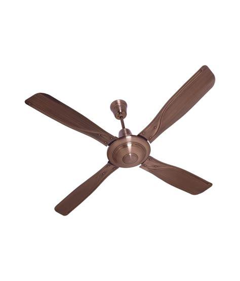 antique copper ceiling fan havells 1320 mm yorker ceiling fan antique copper price in