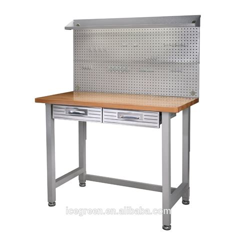 Metal Workbench Drawers by Stainless Steel Lighted Workbench With Drawers Buy