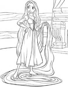 tangled coloring pages princess coloring pages