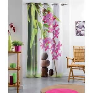 rideau equilibre zen 140x240 cm