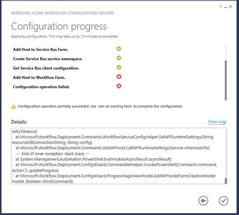 windows azure workflow troubleshooting windows azure workflow 1 0 beta