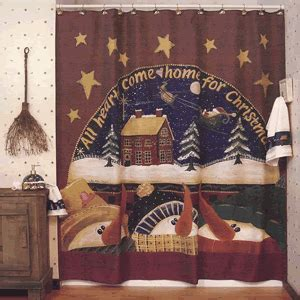 primitive snowman shower curtain home decor trends tips and decorating ideas blog snowman
