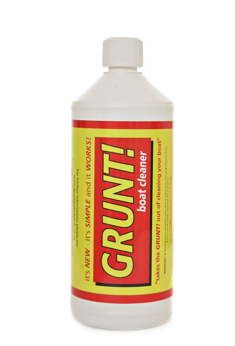 boat cleaning products uk grunt boat cleaner 1 litre grunt boat cleaner