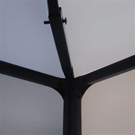 gartenpavillon 4 x 3 m vidaxl gartenpavillon wei 223 3 x 4 m im vidaxl trendshop
