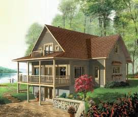 one story house plans with walkout basement walk out basement house plans