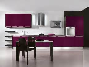 Purple Kitchen Cabinets Purple Kitchens