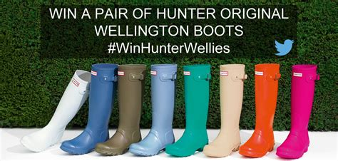 Win A Pair Of win a pair of wellington boots philip morris
