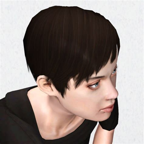 short hairstyles for sims 3 super short hairstyle pixie by hystericalparoxysm at mod