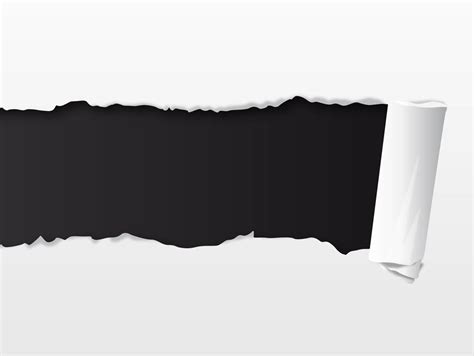 torn paper vector tutorial ripped sheet free vectors ui download