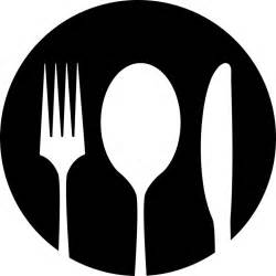 Black Cutlery Set spoon and fork vector free download clip art free clip