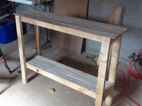 Pallet Console Table Pallet Sofa Table Table Pallet Furniture Diy