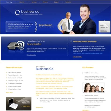 templates for hrms website business co template free website templates in css html