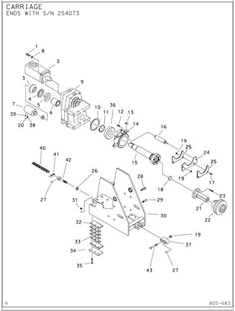ditch witch parts diagram jt1720 gear box part 166 116 ushdd supply