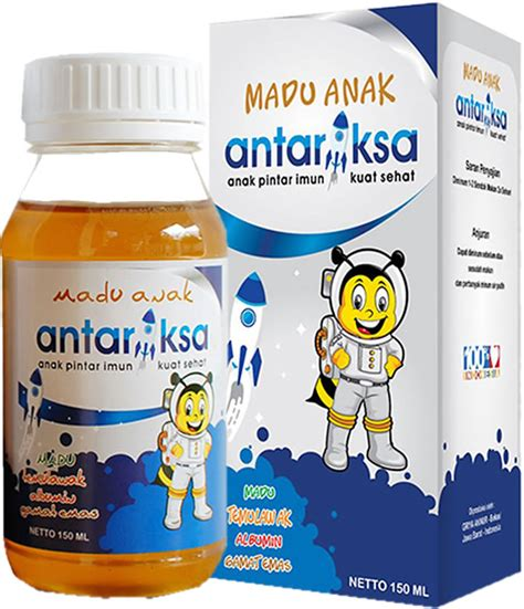 Madu Antariksa Obat Untuk Anak Sariawan botol madu antariksa potong kanan bolong all about bayi dan balita