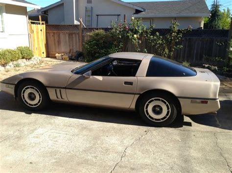how to sell used cars 1984 chevrolet corvette parking system sell used 1984 chevrolet corvette base hatchback 2 door 5 7l in napa california united states