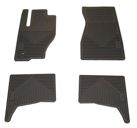 2008 Jeep Grand Floor Mats by All Things Jeep Mopar Front Rear Slush Mats For 2008