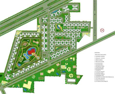 layout plan of gurgaon overview sare green parc gurgaon vs realtors india