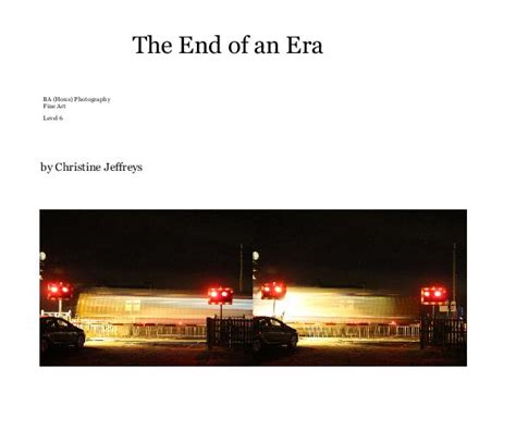 end of an era the colony books the end of an era by christine jeffreys arts