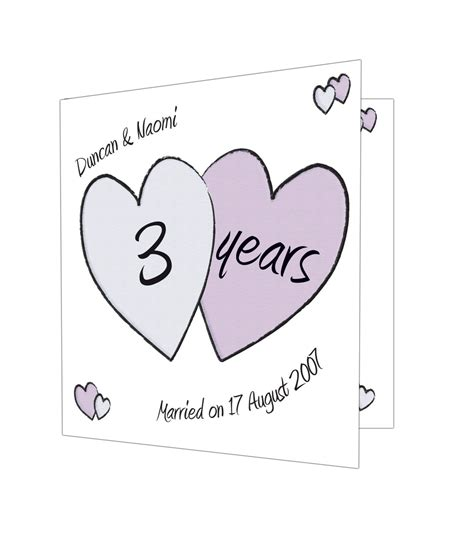 Anniversary Gift Cards - personalised perfect love anniversary card just for gifts
