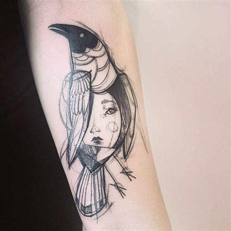 imagenes de tatuajes para dibujar a lapiz tatuajes que parecen bocetos de dibujos hechos a mano