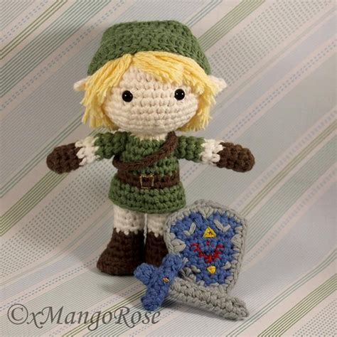 zelda link pattern 4 name crocheting link amigurumi doll from legend of