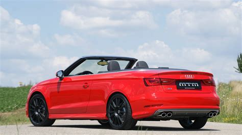 2014 Audi S3 Cabriolet Tuned to 360 HP by MTM autoevolution