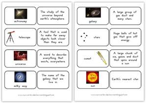 blast space vocabulary word printable activities