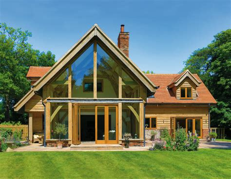 a frame style house beautiful oak frame houses