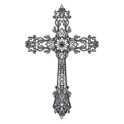 vintage cross tattoos free religious cross clip free clipart downloads