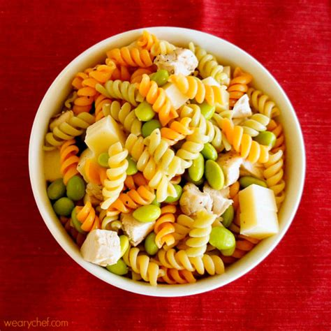 Pasta Gigi Youth Ideal kid friendly pasta salad the weary chef