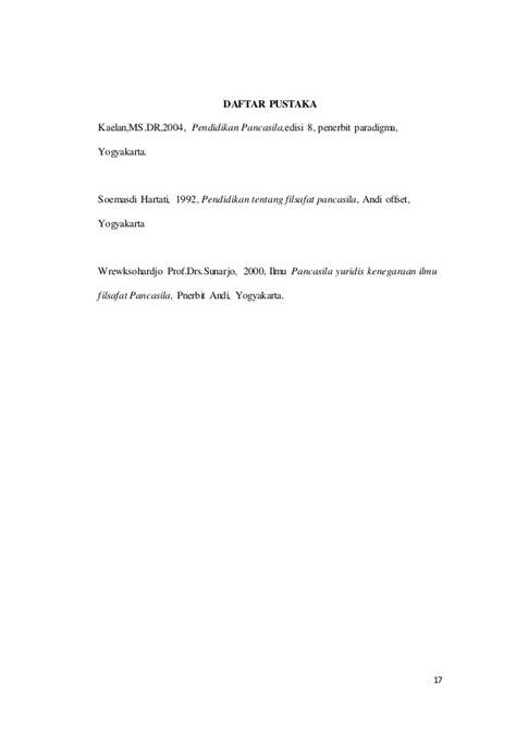 Pendidikan Pancasila Edisi Reformasi 2016 Prof Dr Kaelan M S pancasila sebagai sistem filsafat