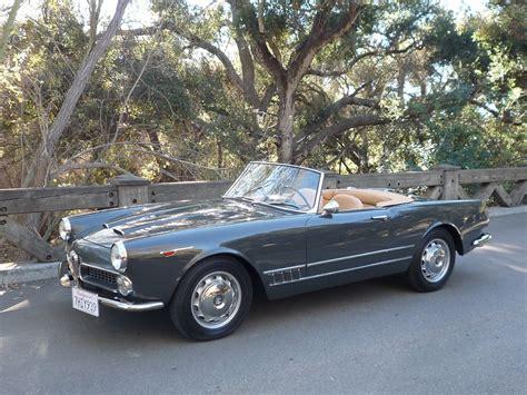 1962 Alfa Romeo by 1962 Alfa Romeo 2000 Spider For Sale 78602 Mcg